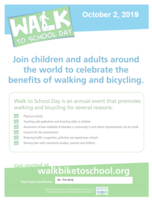 Walk to School Day!