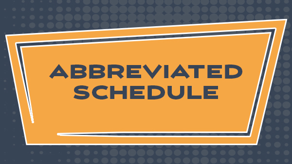abbreviated schedule